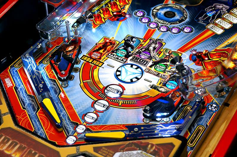 Iron Man: Vault Edition Pinball Machine - Flippers