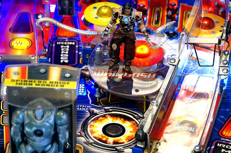 Iron Man: Vault Edition Pinball Machine - Whiplash