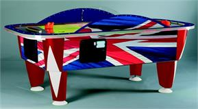 Sam Yukon Union Jack Air Hockey - 8ft