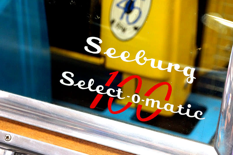 Seeburg Select-o-Matic 100 Vinyl Jukebox - Logo Sticker