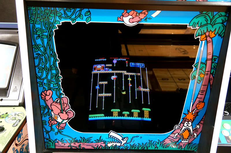 Donkey Kong Jr. Arcade Machine - Screen