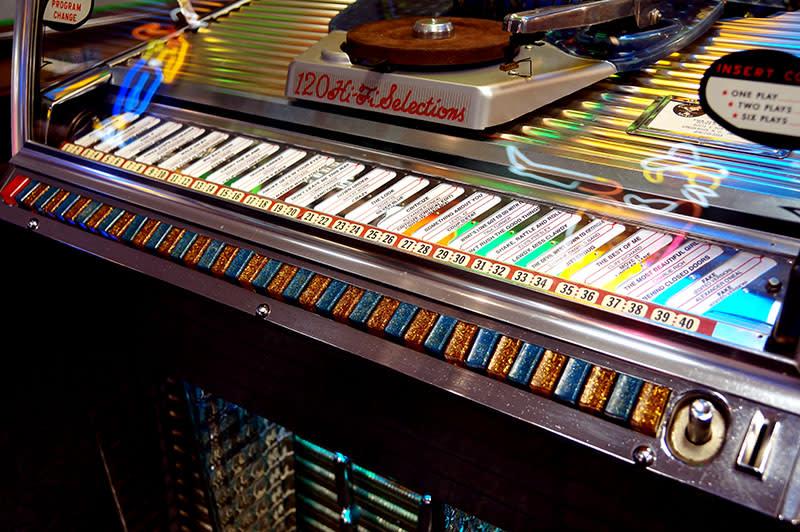Rock-Ola 1454 Vinyl Jukebox