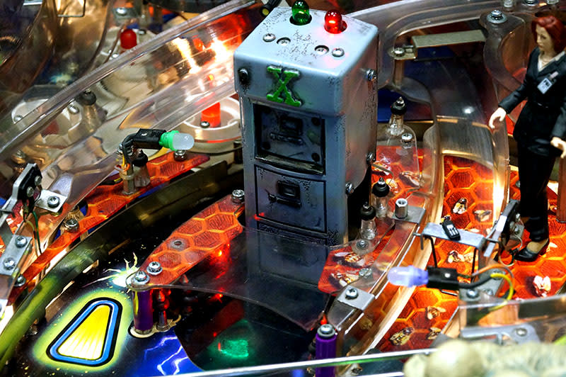 The X Files Pinball Machine - Filing Cabinet