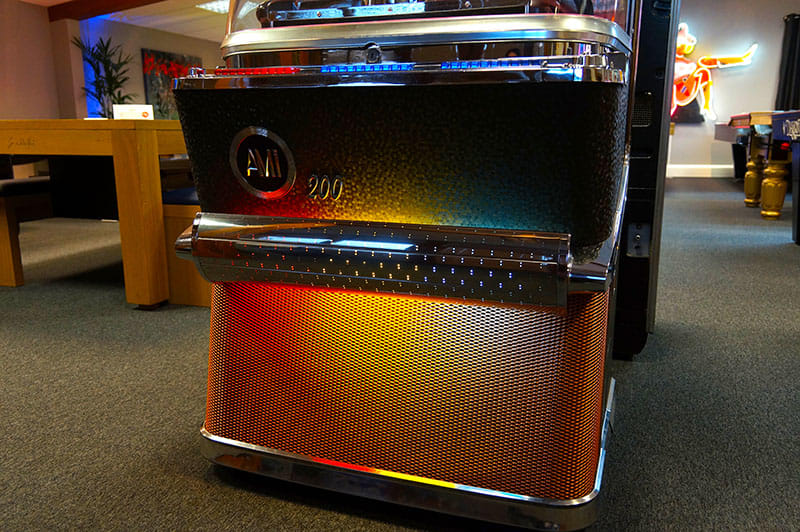 AMI H Vinyl Jukebox - Lower Grille