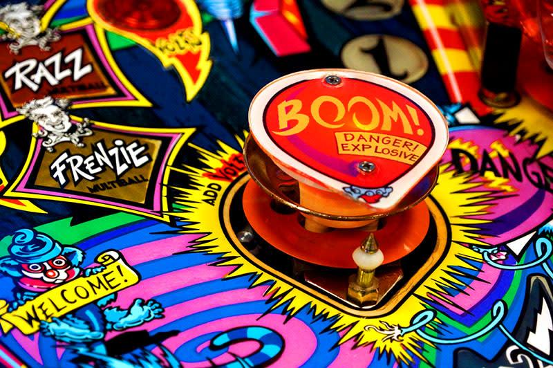 Cirqus Voltaire Pinball Machine - Boom Balloon Bumper