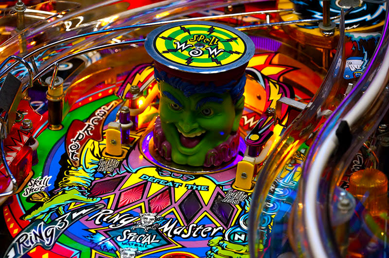 Cirqus Voltaire Pinball Machine For Sale UK