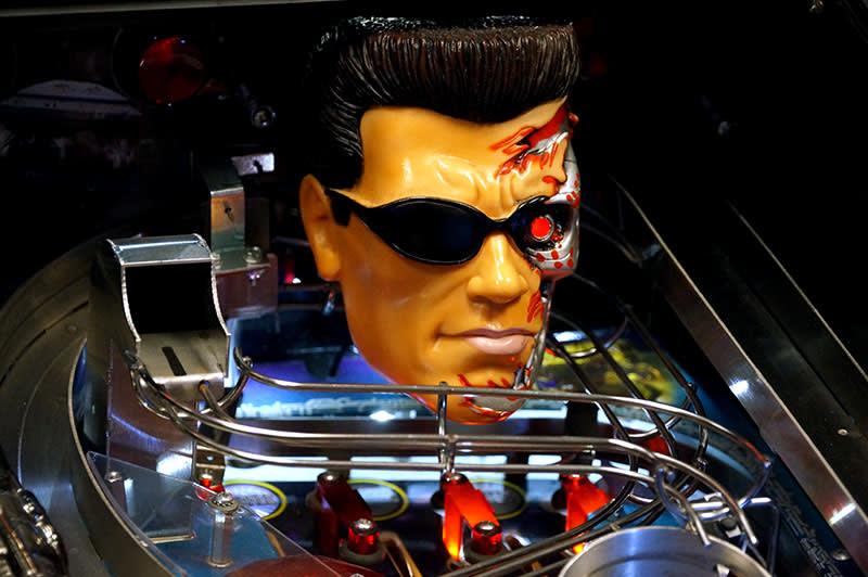 Terminator 3 Pinball Machine - T800 Terminator
