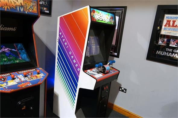 Used Arcade Games Sale : Paperboy arcade machine for sale home leisure direct