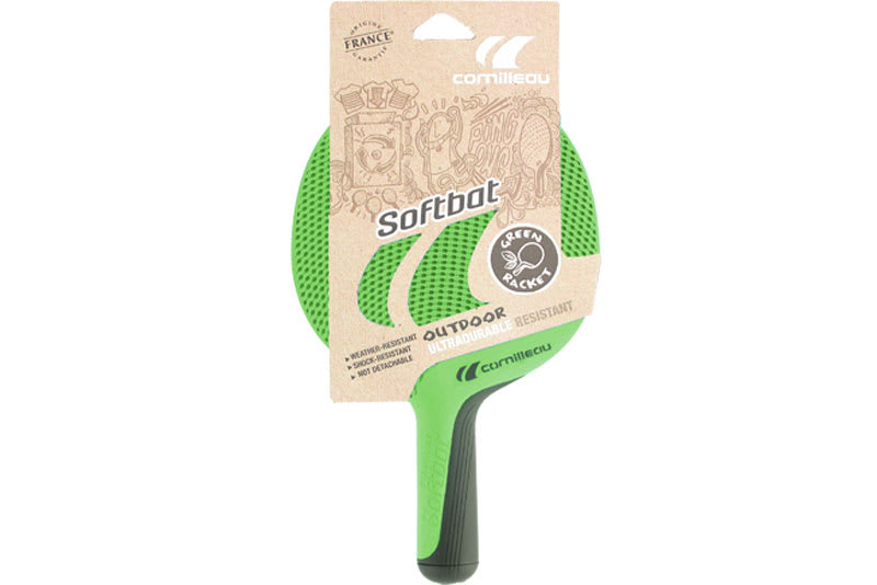 Softbat Eco-Design Outdoor Bat - Green - Packaging