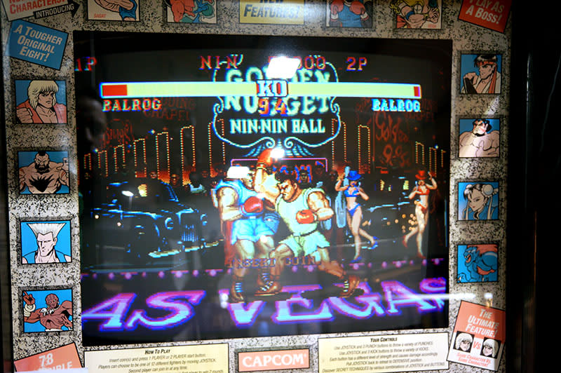 Street Fighter 2 Champion Edition Arcade Machine - Screen