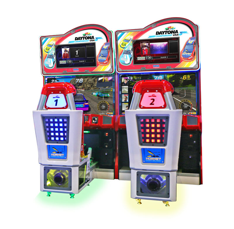 An image of Daytona Championship USA DLX Twin Arcade Machine