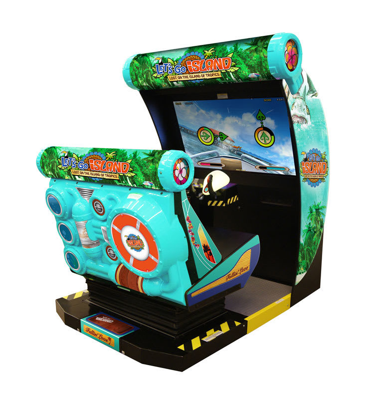 An image of Let's Go Island: Dream Edition Arcade Machine
