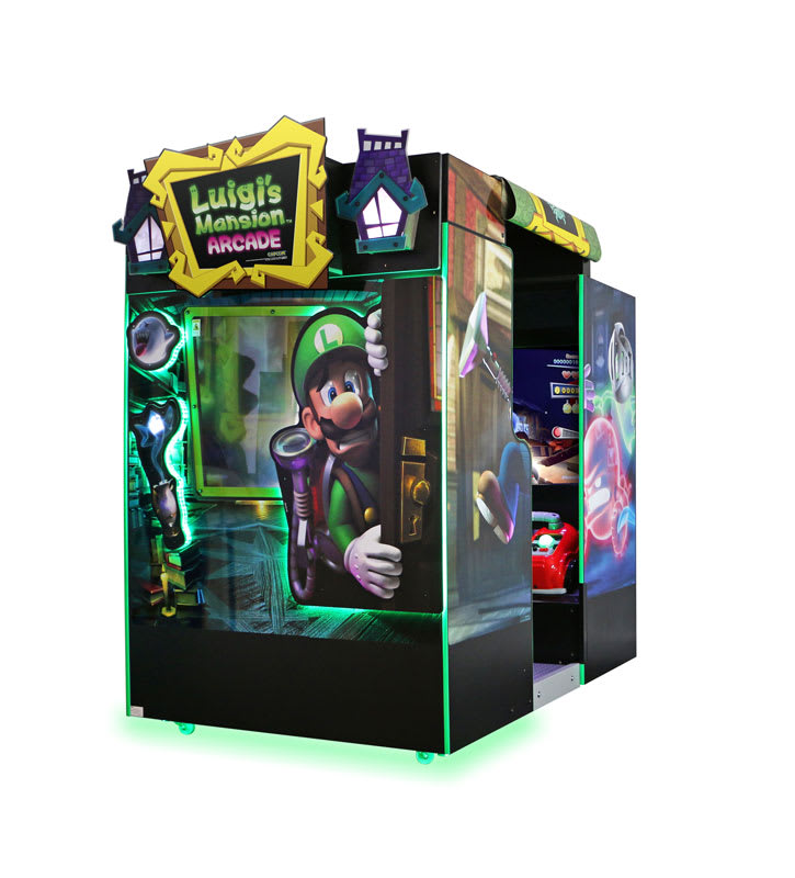 An image of Luigi's Mansion Arcade Machine