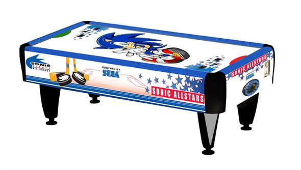 Sonic 2 Player Air Hockey