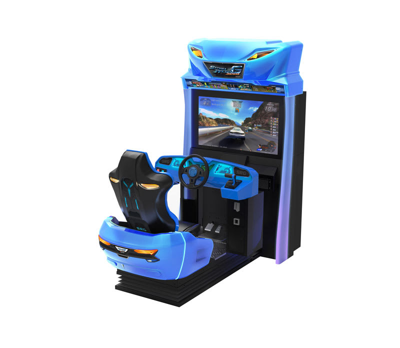 An image of Storm Racer G Motion DLX Arcade Machine