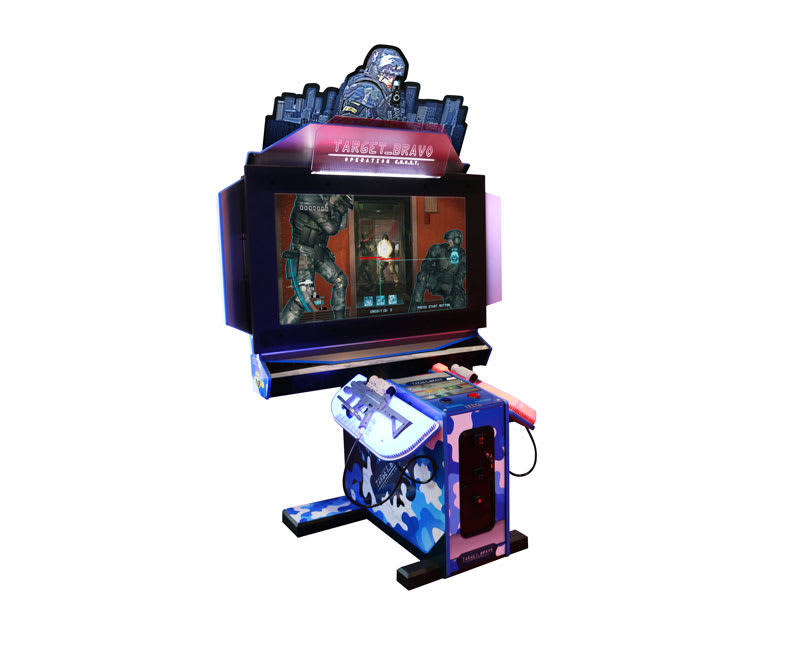 An image of Target Bravo: Operation Ghost Arcade Machine