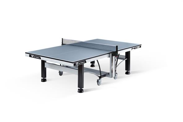 Cornilleau ITTF Competition 740 Indoor Table Tennis Table: Grey