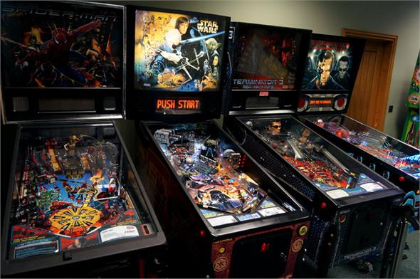 Star Wars Trilogy Pinball Machine
