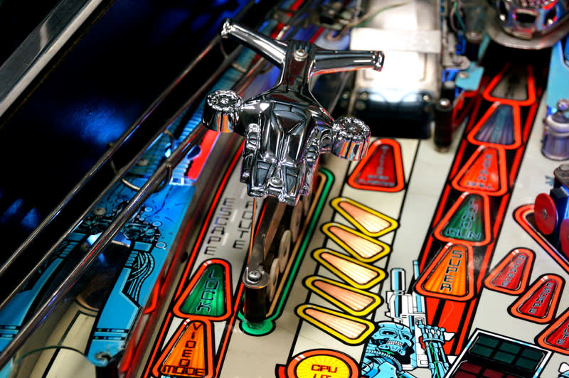 Terminator 2 Pinball Machine - Hunter Killer Ship