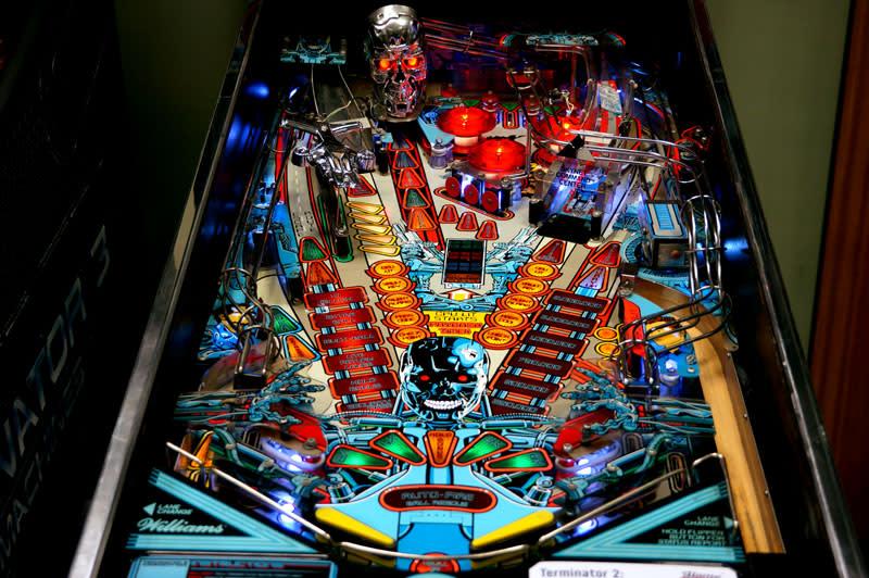 Terminator 2 pinball game worlds hardest games 2 cool math games