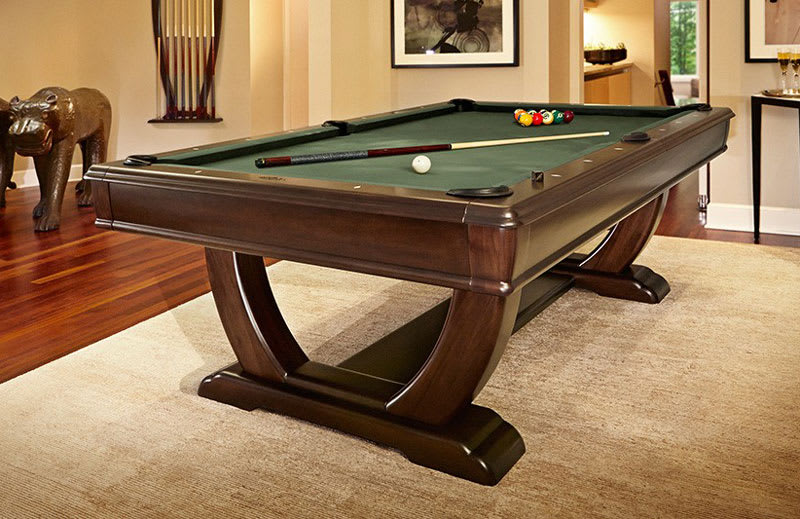 Brunswick De Soto Pool Table - Room Shot