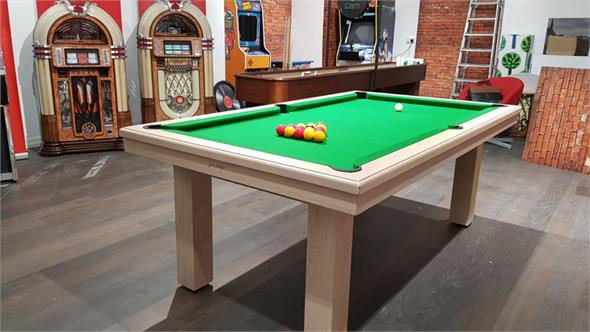 Billards Montfort Aldernay Pool Table - Oak - Warehouse Clearance
