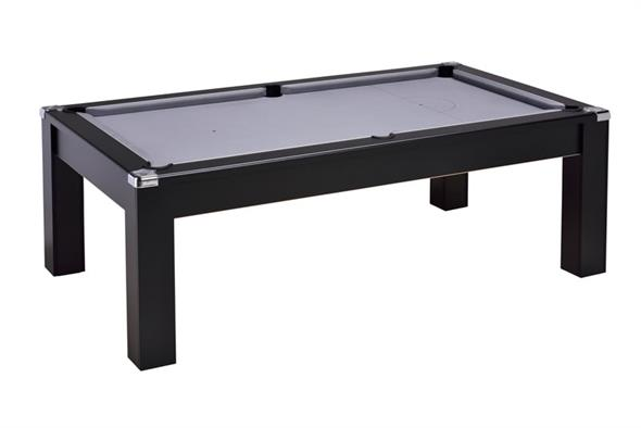Avant Garde 2.0 Pool Dining Table: Black - 6ft, 7ft