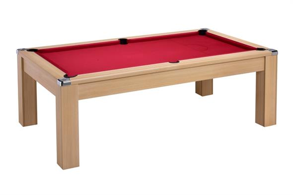 Avant Garde 2.0 Pool Dining Table: Oak - 6ft, 7ft