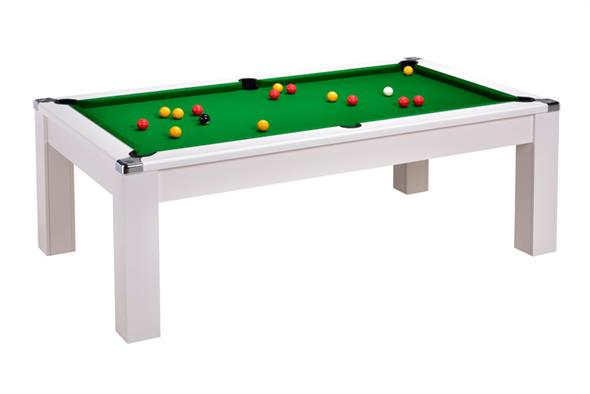 Avant Garde 2.0 Pool Dining Table: White - 6ft, 7ft
