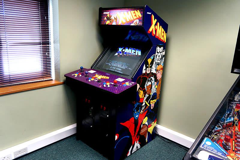 An image of X-Men Fighting Arcade Machine