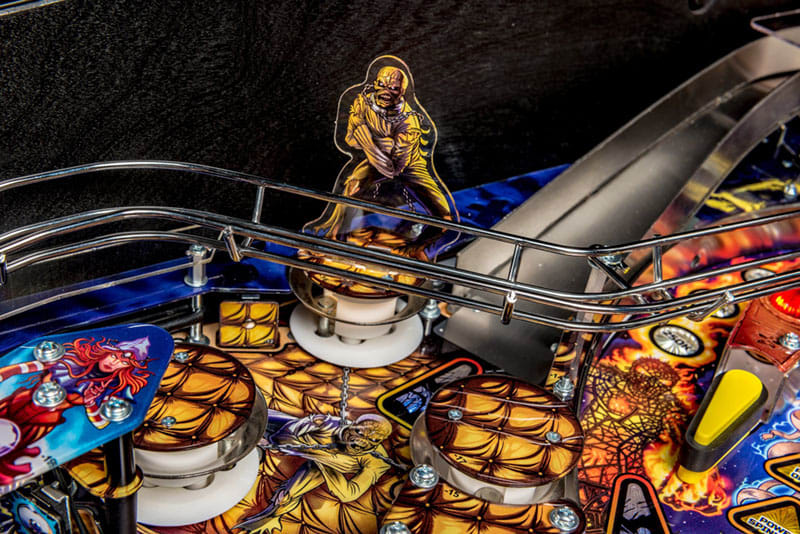 Iron Maiden Pro Pinball Machine - Bumpers Mummy