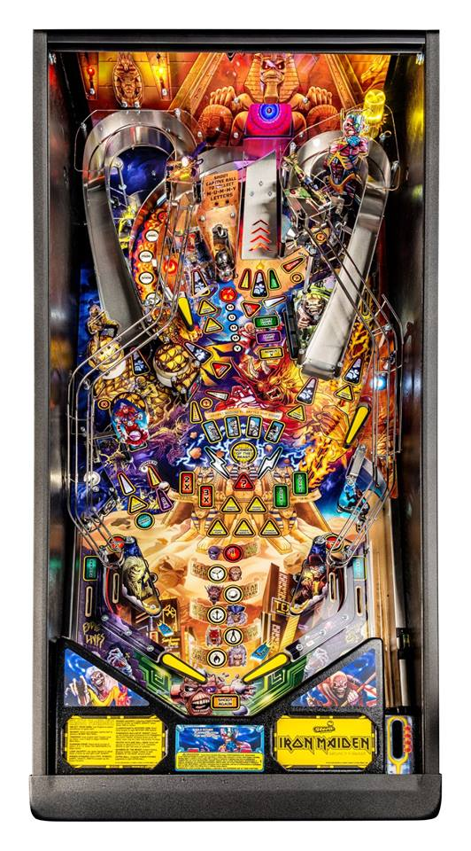 Iron Maiden Pro Pinball Machine - Playfield