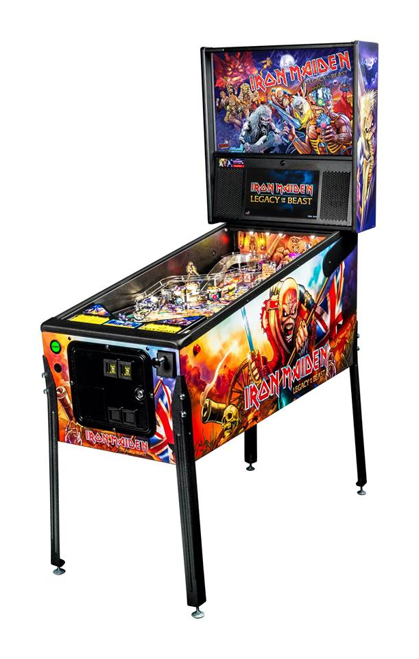 An image of Iron Maiden Pro Pinball Machine