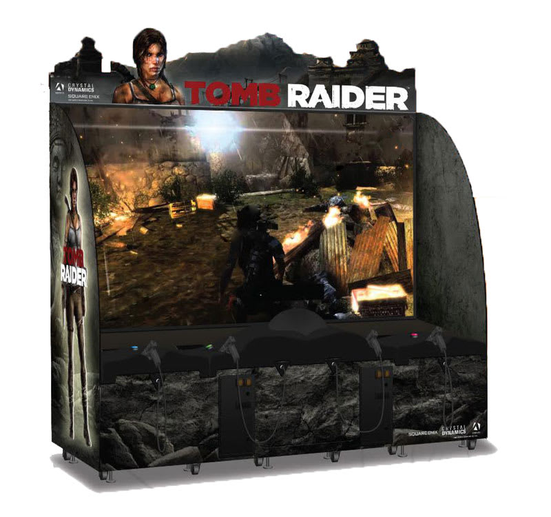 An image of Tomb Raider Arcade Machine