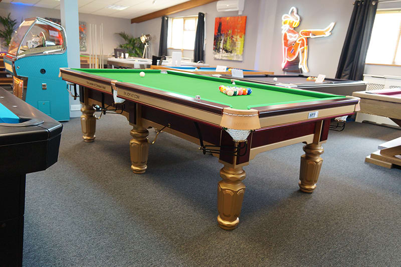 Joy Q8 Chinese 8-Ball Table - In Showroom