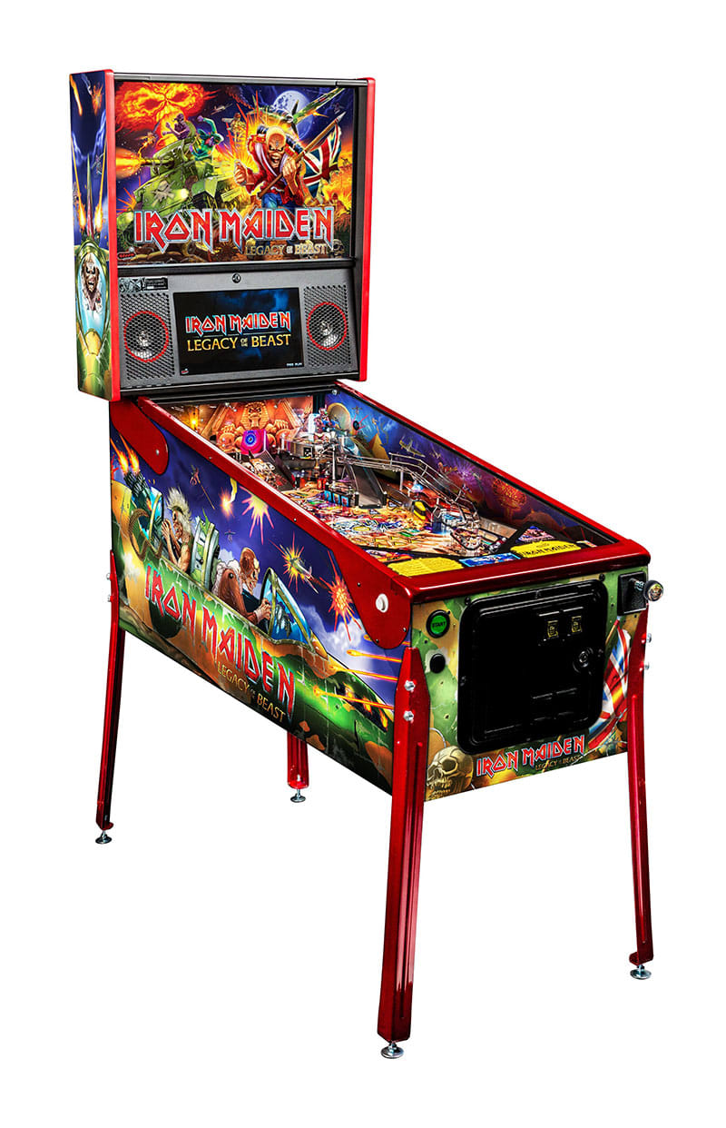 Iron Maiden LE Pinball Machine - Overview Left