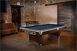 Brunswick Gold Crown VI American Pool Table - 9ft