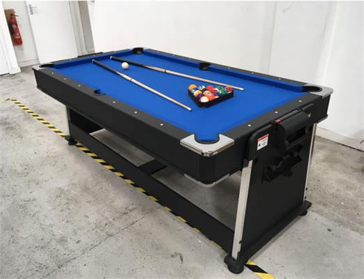 Revolver 3-in-1 Pool, Air Hockey and Table Tennis Table - 7ft: Warehouse Clearance
