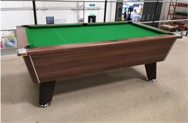 Signature Tournament Pool Table: Walnut - 7ft - Warehouse Clearance