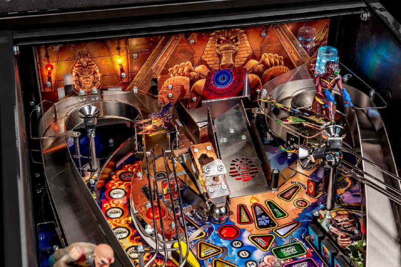 Iron Maiden Premium Pinball Machine - Upper Playfield