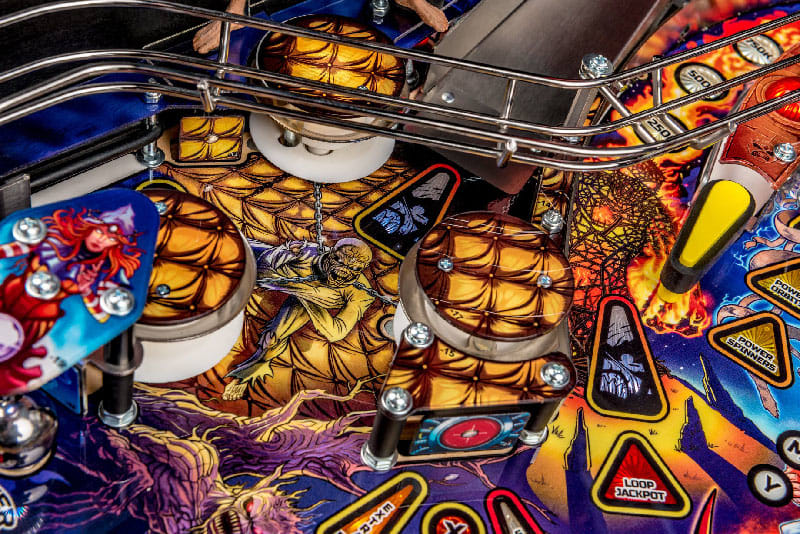 Iron Maiden Premium Pinball Machine - Bumper Artwork