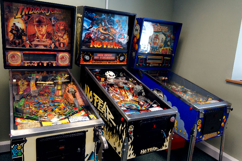 No Fear Pinball Machine - In Showroom