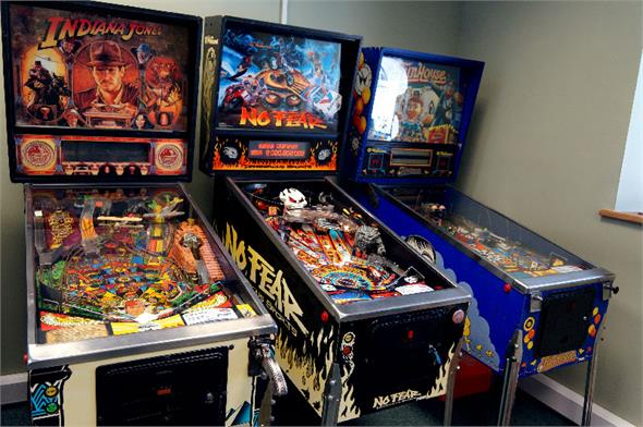 No Fear: Dangerous Sports Pinball Machine - LED Upgraded