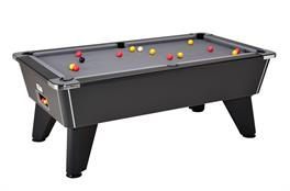 Signature Tournament Pool Table: Black - 6ft, 7ft