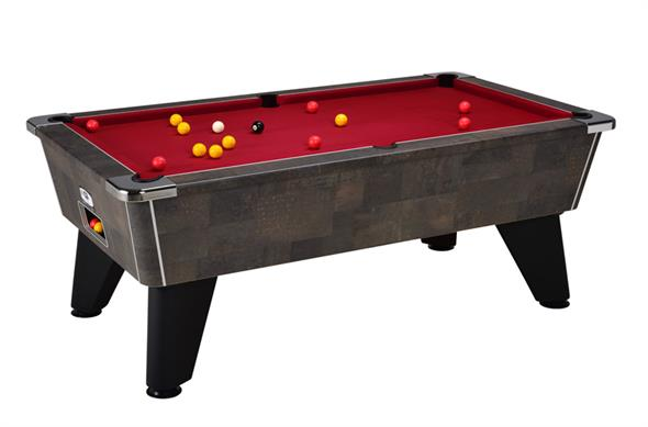 Signature Tournament Pool Table: Meteorite - 6ft, 7ft