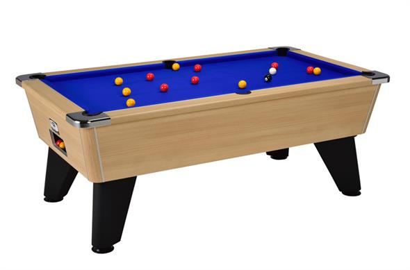 Signature Tournament Pool Table: Oak - 6ft, 7ft