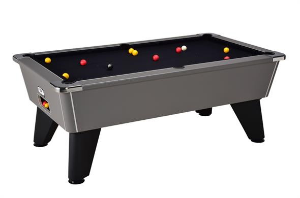 Signature Tournament Pool Table: Onyx Grey - 6ft, 7ft