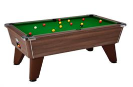 Signature Tournament Pool Table: Walnut - 6ft, 7ft