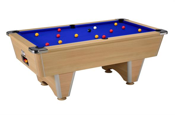 Signature Champion Pool Table: Oak - 6ft, 7ft