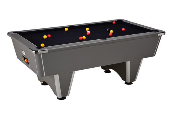 Signature Champion Pool Table: Onyx Grey - 6ft, 7ft